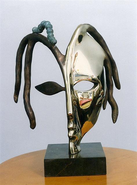 Life And Death Sculpture by Antonio Petrov
