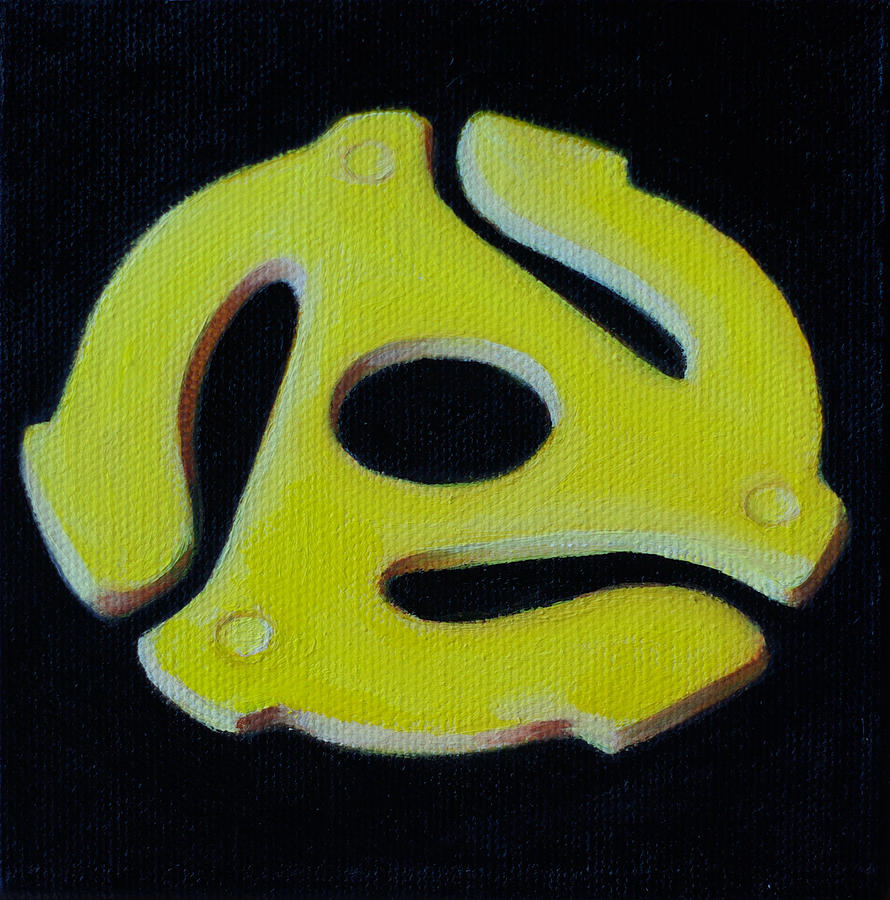 Yellow Painting - Life At 45 Rpm by L Antram