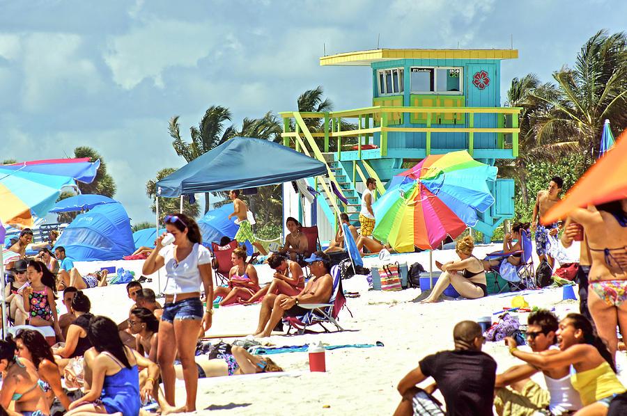Beach Photograph - Life Is A Beach by Dieter  Lesche