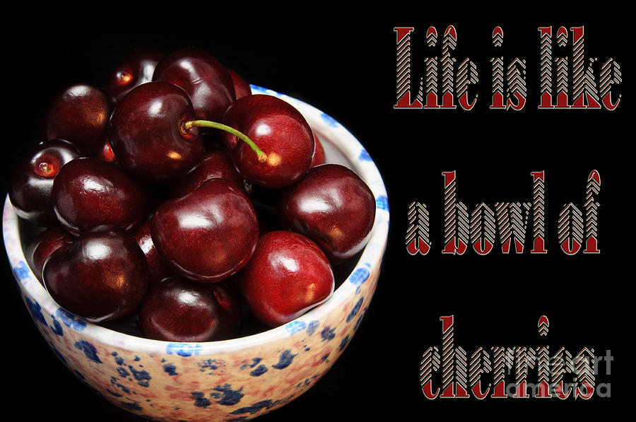 Image result for life is a bowl of cherries