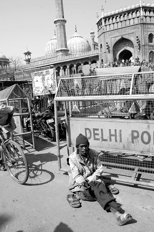 Delhi Photograph - Life On The Street by Abhilash G Nath