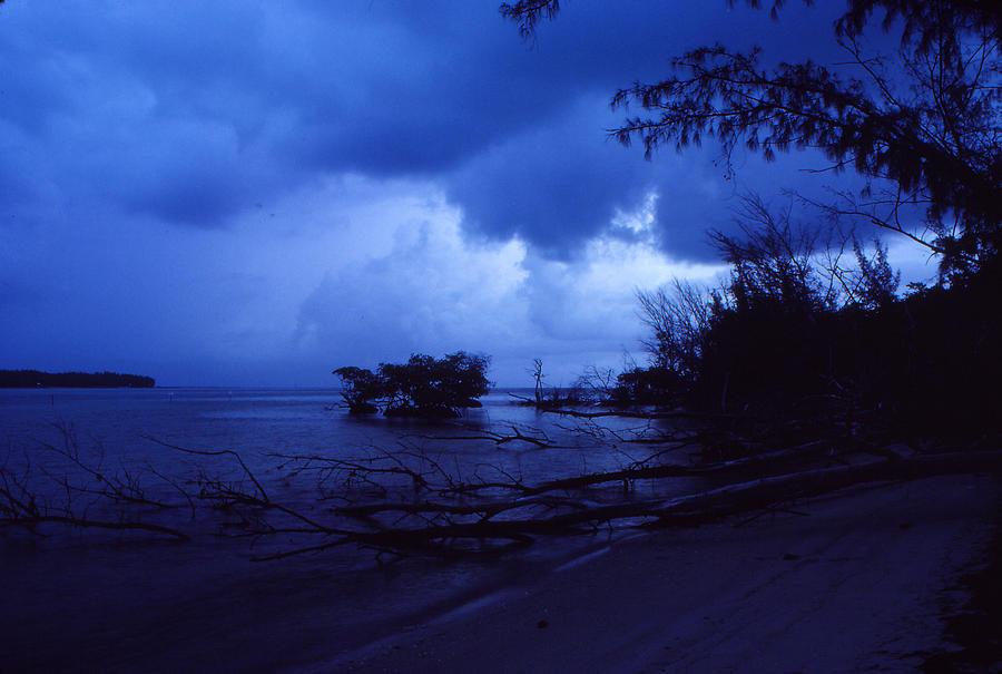 First Light Photograph - Lifting Storm by Bob Whitt