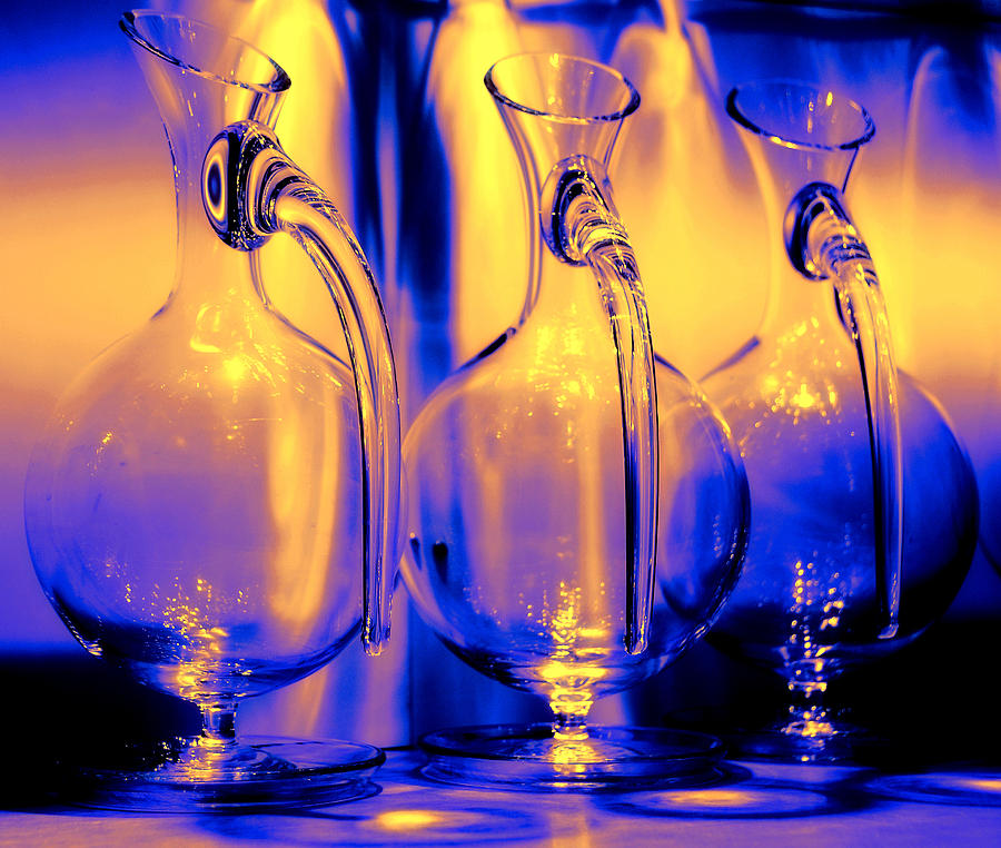 Vase Photograph - Light And Colors Play I by Jenny Rainbow