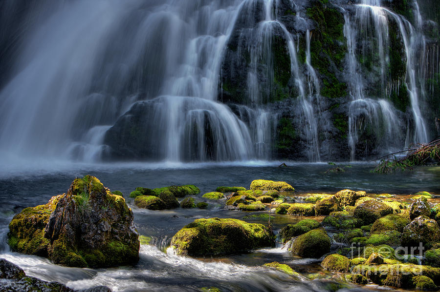 Waterfall Photograph - Light And Water by Henrik Spranz