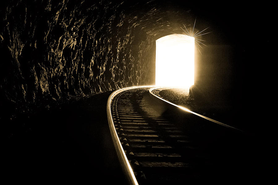 Asheville Photograph - Light At The End Of The Tunnel by Joye Ardyn Durham