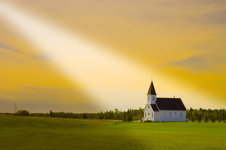 Light From Heaven Photograph By Corey Hochachka