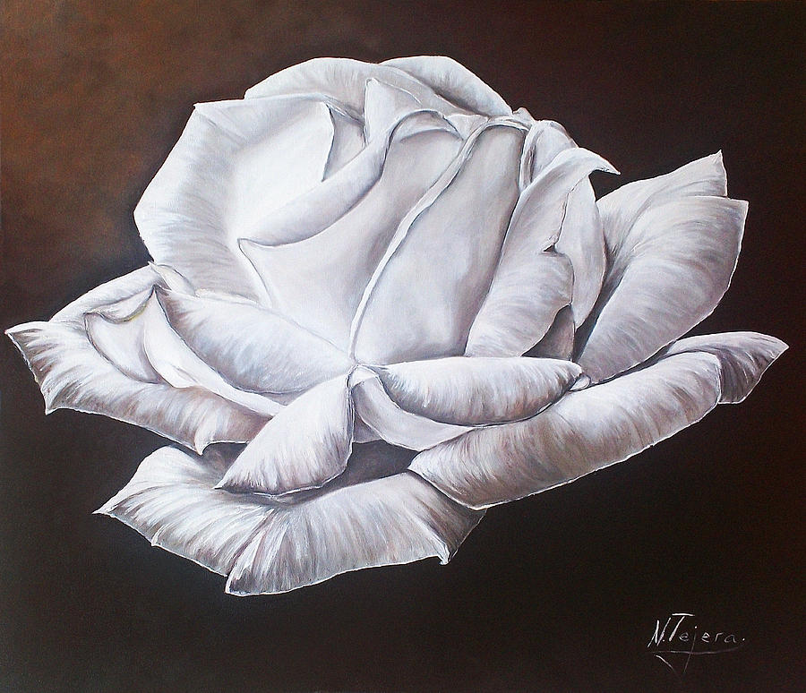 Still Life Painting - Light In The Darkness by Natalia Tejera
