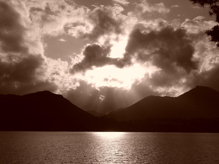Water Photograph - Light In The Sky by Nicola Butt