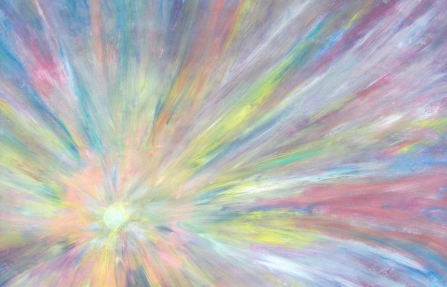 Abstract Painting - Light by Jeanette Stewart