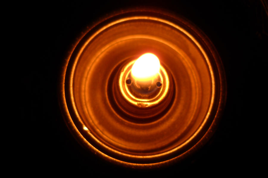 Perfect Circle Photograph - Light by Mille Kedlaw