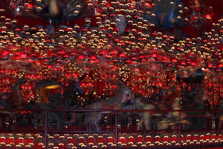 Lights Photograph - Light Patterns by Mike Stouffer