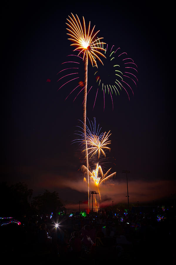 4th Of July Photograph - Light Up The Night by David Hahn