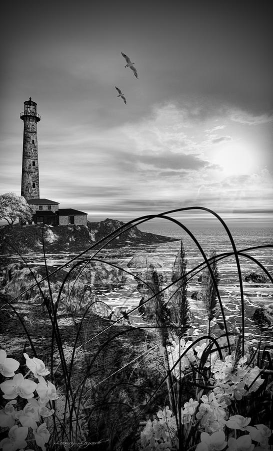 Lighthouse Photograph - Light Within by Lourry Legarde