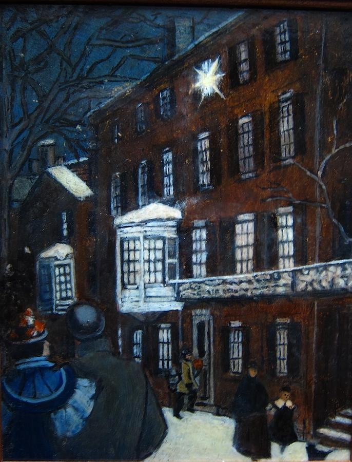 Historic Painting - Lighted Candles by Rick Hildebrandt
