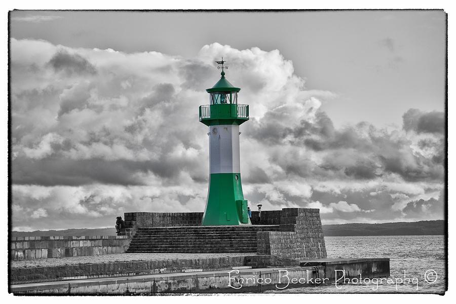 Lighthouse Photograph - Lighthouse Baltic Sea by Enrico Becker