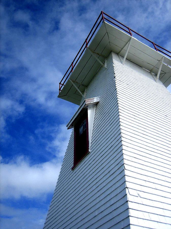 Lighthouse Photograph - Lighthouse Prince Edward Island by Ann Powell
