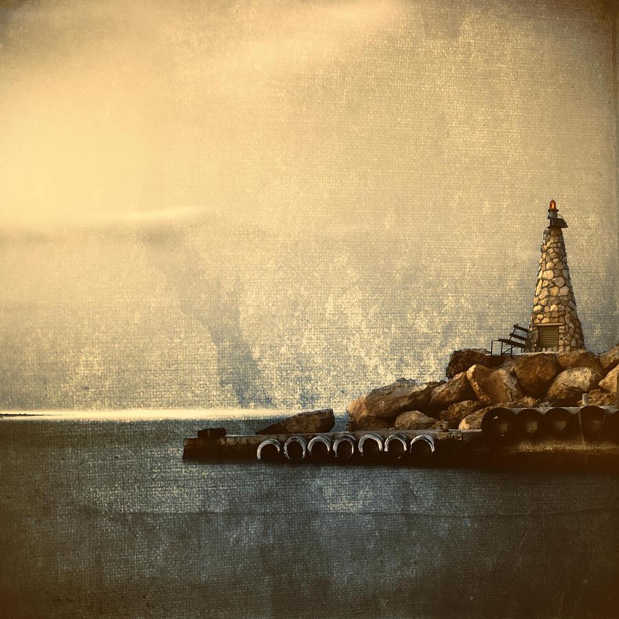 Beach Photograph - Lighthouse by Stelios Kleanthous