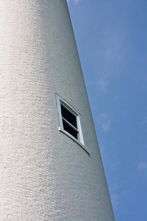 White Photograph - Lighthouse Window by Jeffrey Auger