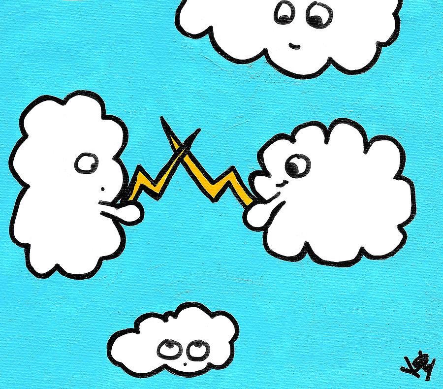 Lightning Painting - Lightning Fight by Jera Sky