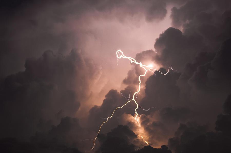 Lightning Photograph - Lightning Man by Paul Madura