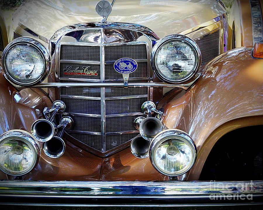 Car Photograph - Lights And Sound... by Richard Burr