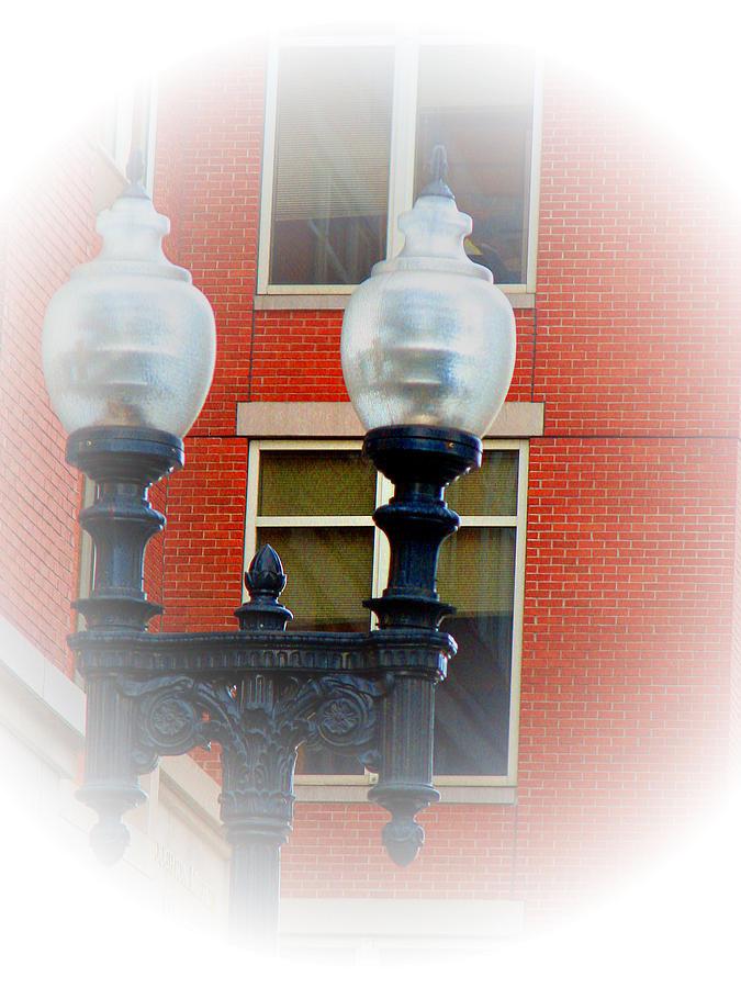 Lighting Photograph - Lights Of Boston by Marie Jamieson