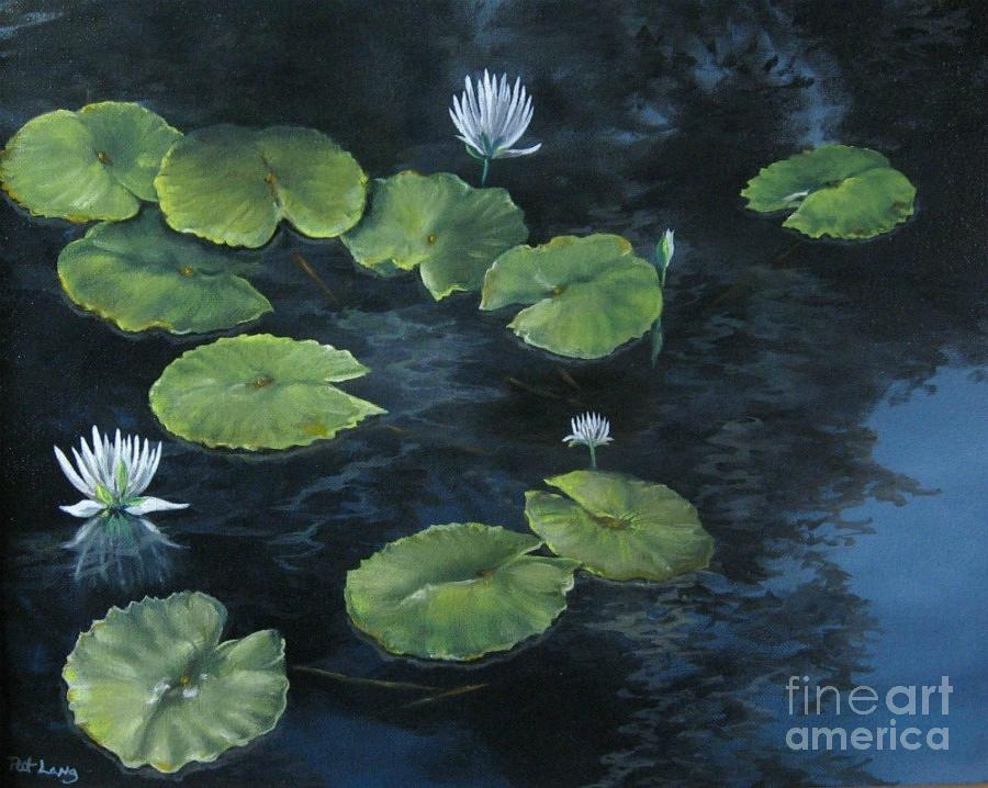 Lily Painting - Lilypond by Patricia Lang
