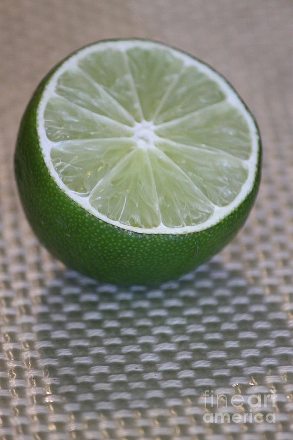Lime Photograph - Lime Light by Terri Thompson