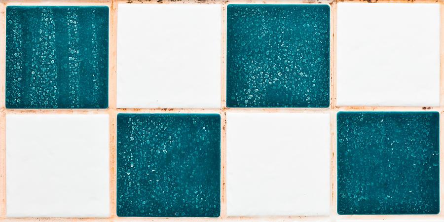 Aqua Photograph - Limescale In Bathroom by Tom Gowanlock