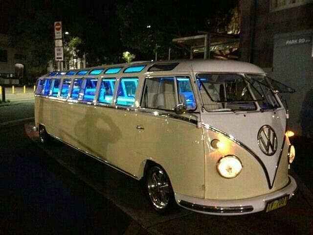 Vw Photograph - Limo For The Woodstock Generation by Shawn Hughes