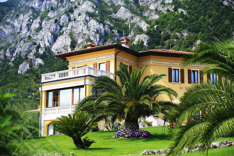 Limone Photograph - Limone Garda Lake Italy 5 by Isaac Silman