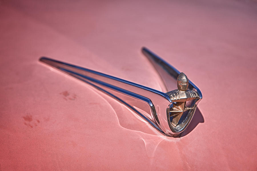 Cheyenne Photograph - Lincoln Hood Ornament by Richard Steinberger