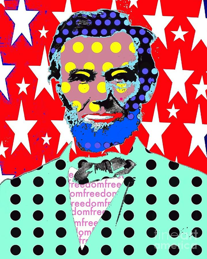 Abraham Lincoln Digital Art - Lincoln by Ricky Sencion