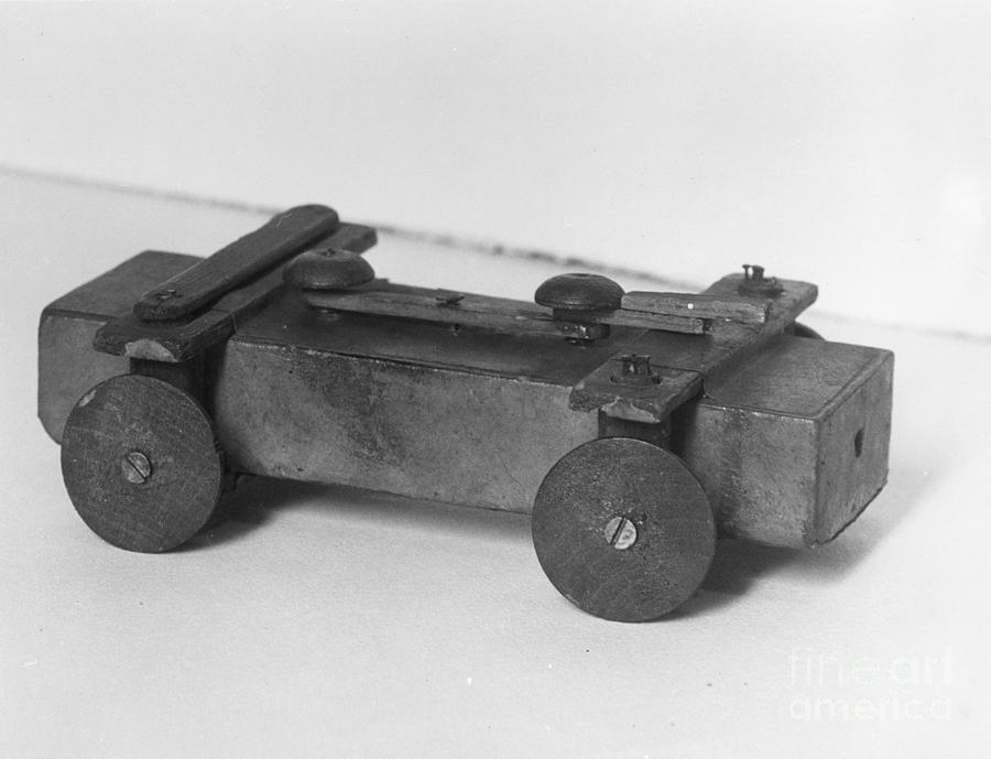 19th Century Photograph - Lincoln Toy Wagon by Granger
