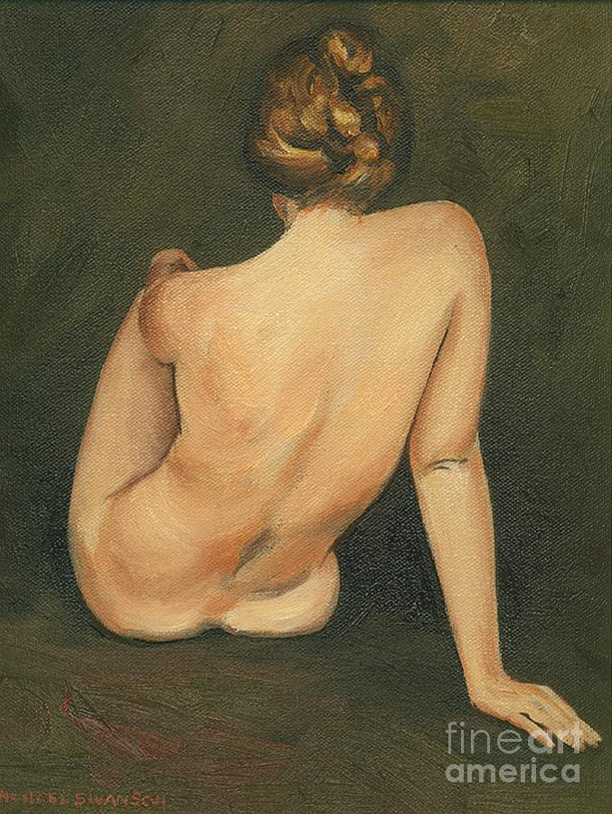 Nude Study Painting - Linda by Michael Swanson