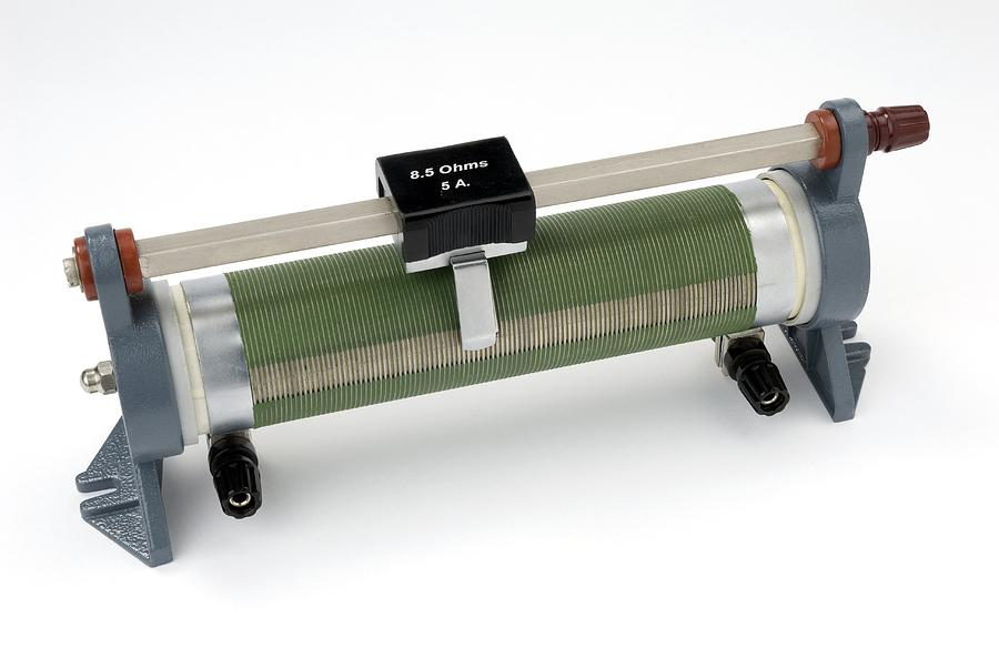 Resistor Photograph - Linear Potentiometer by Trevor Clifford Photography