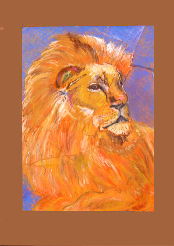 Lion King by Karen Camden Welsh