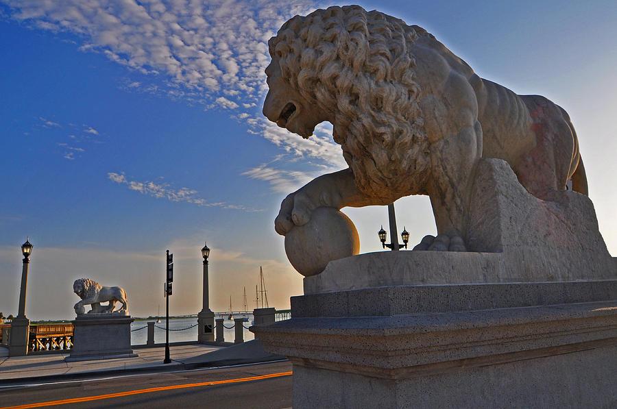 Lions Gate Bridge Photograph - Lions Gate Bridge by Peter  McIntosh