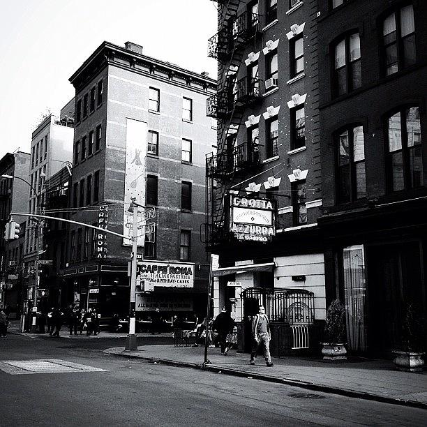 New York City Photograph - Little Italy - New York City by Vivienne Gucwa