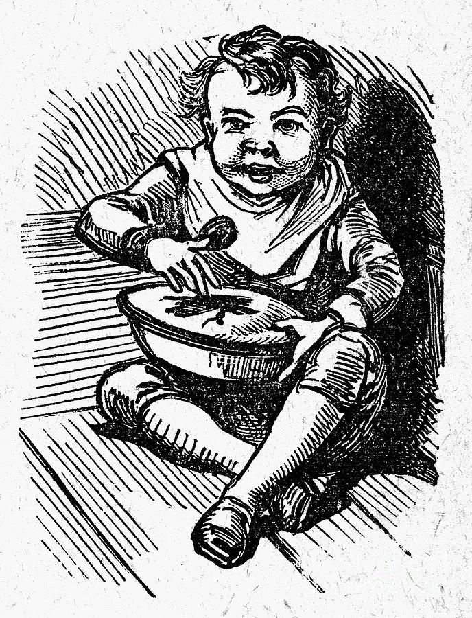 19th Century Photograph - Little Jack Horner by Granger