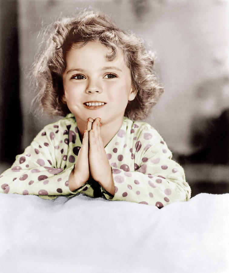 1930s Movies Photograph - Little Miss Marker, Shirley Temple, 1934 by Everett