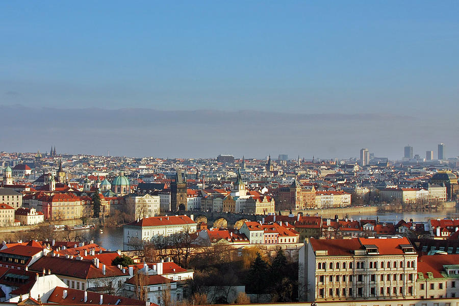 Roofs Photograph - Little Mother Prague by Christine Till