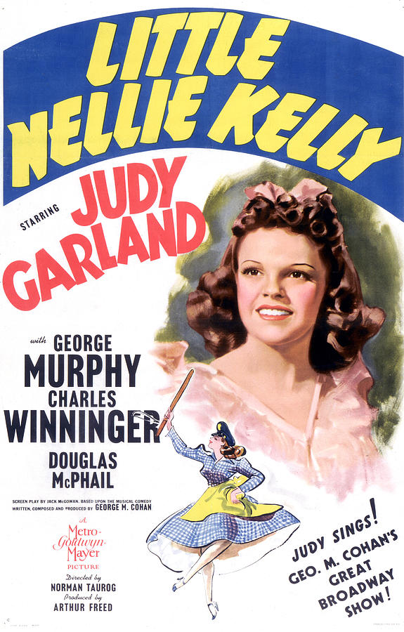 1940 Movies Photograph - Little Nellie Kelly, Judy Garland, 1940 by Everett