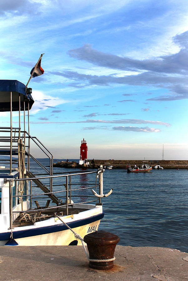 Lighthouse Photograph - Little Red Lighthouse by Jasna Buncic