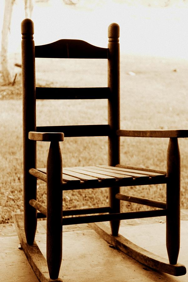 Rocking Chair Photograph - Little Rocking Chair by Hannah Miller