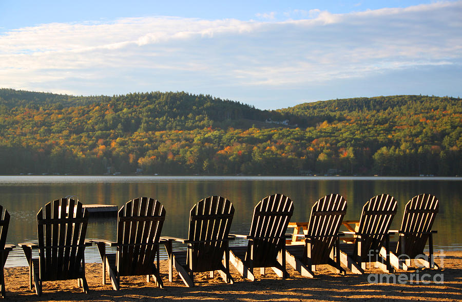 Holderness Nh Photograph - Little Squam Relax 1 by Michael Mooney