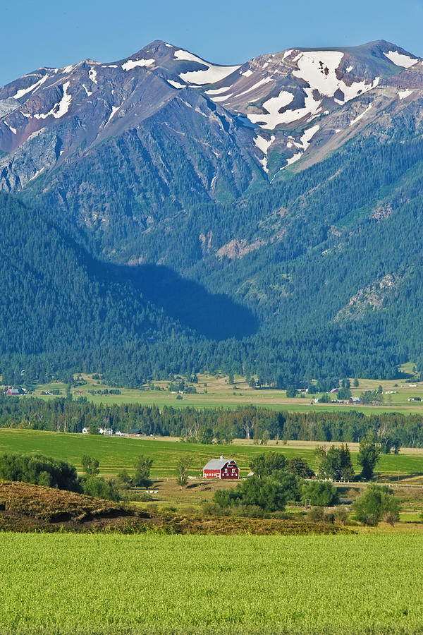 Wallowa Mountains Photograph - Little Switzerland  by Alvin Kroon