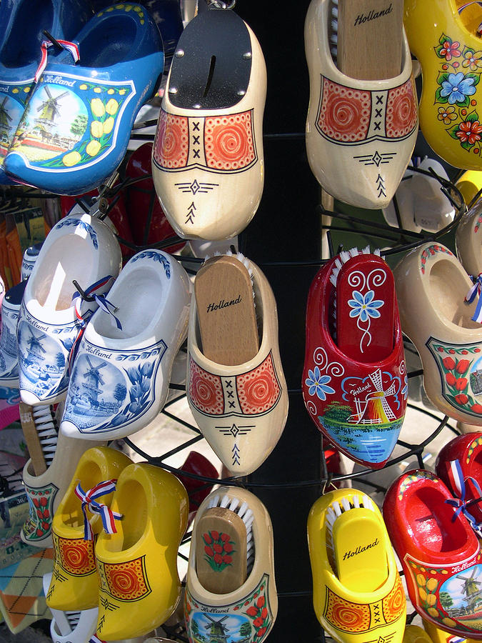 Wooden Shoes Photograph - Little Wooden Shoes by Jill Pro