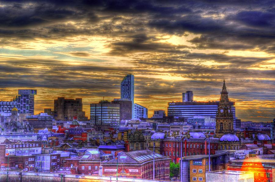 Liverpool Digital Art - Liverpool by Barry R Jones Jr