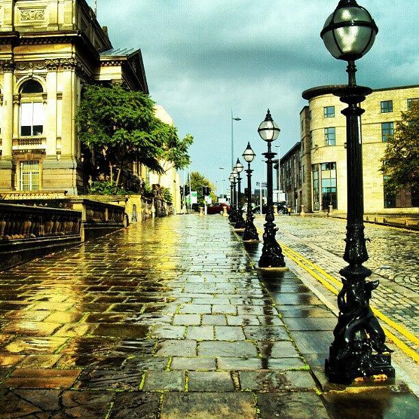 Rainy Photograph - #liverpool #street #rainy #cloudy by Abdelrahman Alawwad